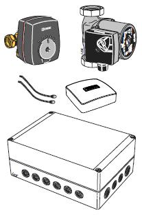 NIBE ECS 41 - модуль для доп. контура отопления > 80м2