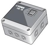 NIBE HR 10 Внешнее реле HR 10 имеет бокс с регулятором.