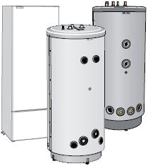 NIBE VPA аккумуляционный бак, предназначенный для подключения к тепловому насосу.