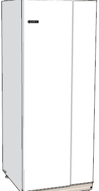 NIBE VPB 200 аккумуляторный бак с косвенным водонагревателем