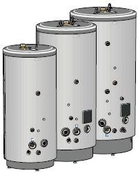 NIBE VPB 500-1000 аккумуляционные баки с косвенного нагрева больших размеров
