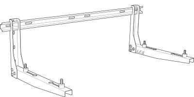 Wall bracket F2040-8/12